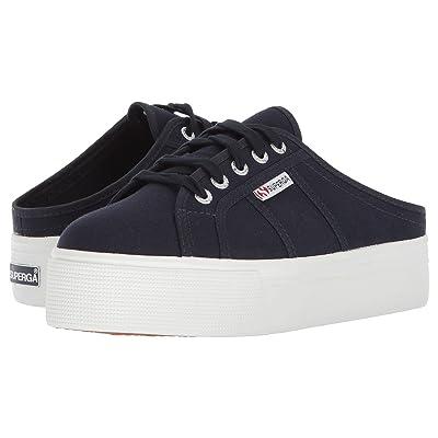 Superga 2284 Vcotw Platform Sneaker Mule (Navy) Women