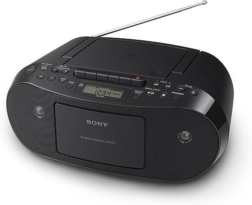wholesale Sony outlet sale CFDS50 sale Portable CD, Cassette & AM/FM Radio Boombox outlet sale