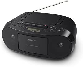 Sony CFDS50 Portable CD, Cassette & AM/FM Radio Boombox