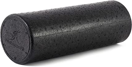 """ProsourceFit High Density Full and Half-Round Foam Rollers for Physical Therapy, Pilates, Yoga, Stretching, Balance & Core Exercises, 12"""", 18"""", 36"""""""