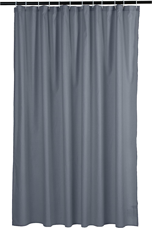 Amazon Basics Waffle Texture Bathroom Shower Dark Grey quality assurance Limited price sale Curtain -