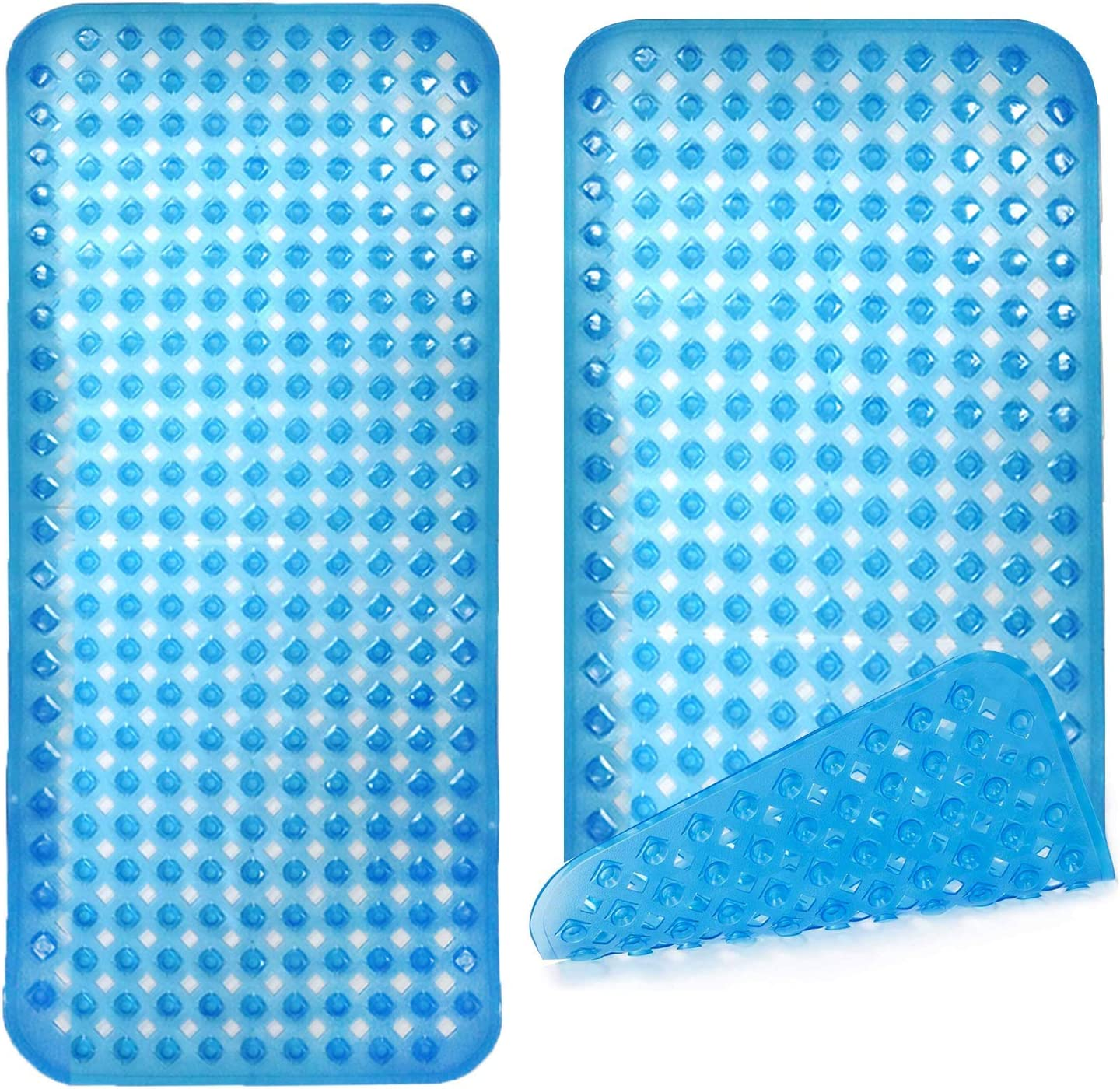 Zuci 2 Pack Bathtub Mat Non Slip Suction with Memphis Our shop most popular Mall Cups Floor 200 Wet