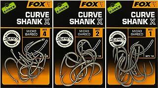 Gr/ö/ße:8 10 Karpfenhaken Boiliehaken FOX Edges Armapoint Wide Gape Straight Hooks Haken f/ür Karpfen Angelhaken zum Karpfenangeln
