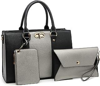 5d7931519a9 1988 MMK Fashion women's Handbag~Stylish vegan Leather Handbags for Ladies  Satchel Tote shoulder purse