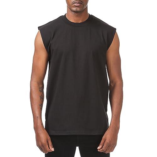 5bbb47e45 Pro Club Men's Heavyweight Sleeveless Muscle T-Shirt