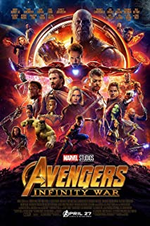 Movie Poster : The Avengers 3 (2018) Infinity War Poster Movie Promo 12x18