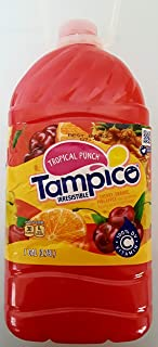 TAMPICO Punch Drink Plastic Bottle, 95188031291, Tropical, 128 Ounce