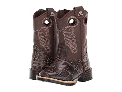 M&F Western Kids Travis (Toddler) (Brown) Cowboy Boots