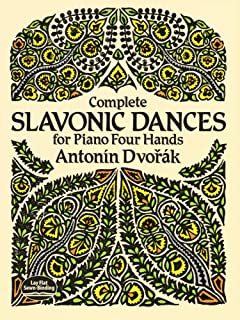 Complete Slavonic Dances for Piano Four Hands (Dover Music f