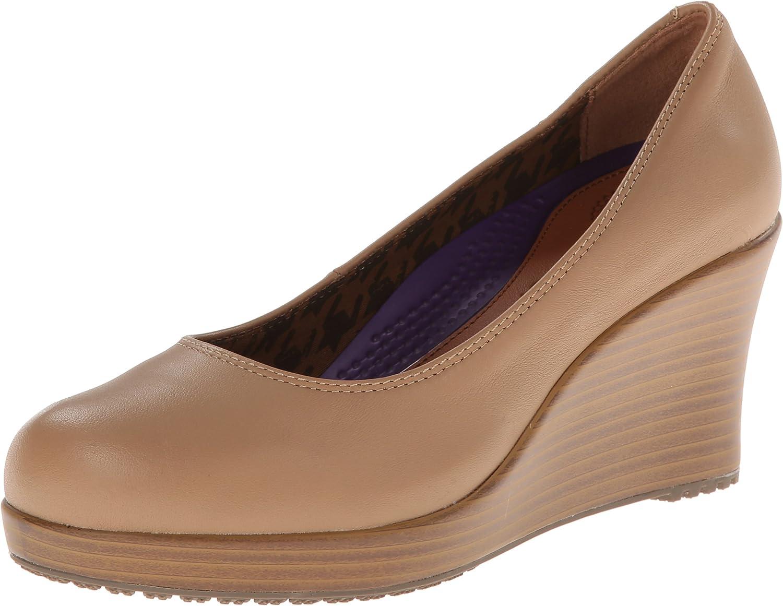 Crocs Women's A-Leigh Closed Toe Wedge