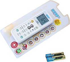 HQRP Universal A/C Remote Control for TRANE Air Conditioner/Fahrenheit displaying plus Coaster