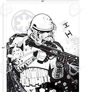 Star Wars Stormtrooper Fabric Panel by Camelot Fabrics 100% Cotton Quilting Sewing