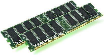Kingston Technology ValueRAM 2X 512MB 400MHz DDR Kit módulo de - Memoria (0,5 GB, DDR, 400 MHz, 184-pin DIMM)