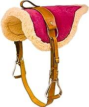 AceRugs New Western English Horse Riding Bareback PAD Premium TREELESS Saddle Leather Stirrups Comfy Horse Saddle TACK