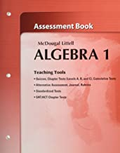 McDougal Littell Algebra 1 Assessment Book (Teaching Tools)