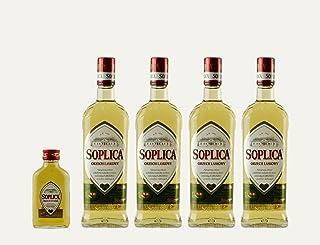4x Soplica Haselnuss  1x kostenfrei Soplica Walnuss in der Probiergröße 30%, 0,1 Liter | Polnischer Haselnusswodka/-likör | je 30%, 0,5 Liter
