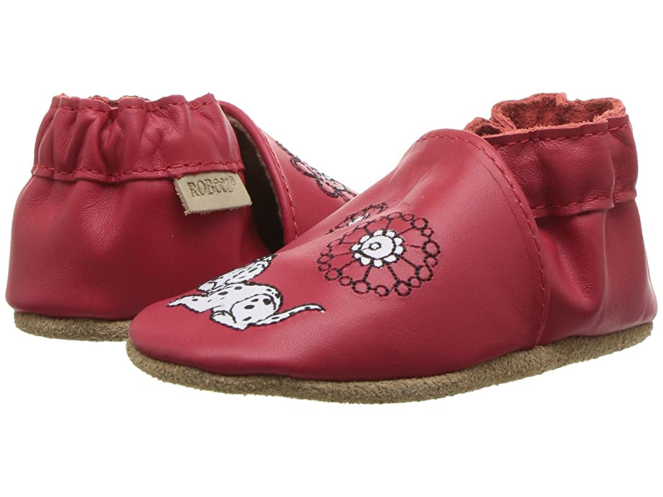 Robeez Disney Garden Fun Soft Sole (Infant/Toddler) (Red) Girl