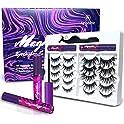 Arishine 3D 5D Magnetic Eyelashes Kit Eyeliner