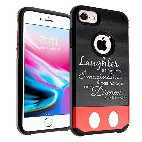 iPhone 8/7 / 6s Case, IMAGITOUCH 2-Piece Style Armor Case with