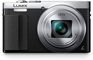 Panasonic Lumix DC-TZ70 - Cámara Compacta de 121 MP (Super Zoom Objetivo F3.3-F6.4 de 24-720mm Zoom de 30X Estabilizador Óptico FHD WiFi Raw) Color Plata