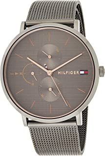 Tommy Hilfiger 1781945 Womens Quartz Watch, Analog Display and Stainless Steel Strap, Black