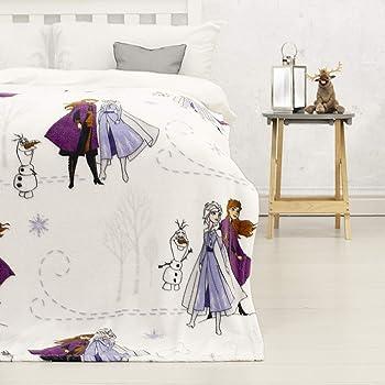 Multicolore Coperta in Pile 150 x 100 cm WD19938 150 x 100 cm Disney Frozen