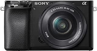 Sony Alpha a6100 Mirrorless Digital Camera with 16-50mm Lens 16-GB Card, Bag