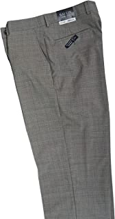 Comfort-EZE Dunhill Flat Front Trousers, Superr 110's Wool, Screen Check