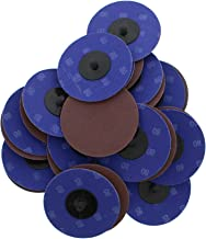 ABN Aluminum Oxide Sanding Discs 25-Pack, 3in, 80 Grit - Metal Sanding Wheels for Surface Prep and Finishing Work