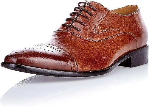 hombres zapatos Oxford Berlin marrón EU 44