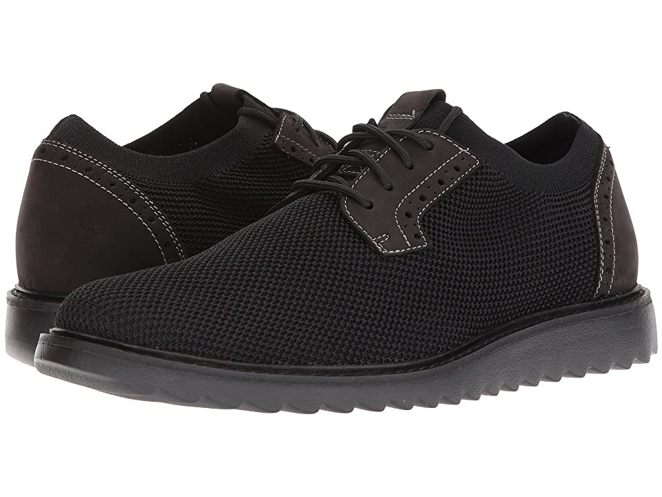G.H. Bass & Co. Dirty Buck 2.0 Plain Toe Knit (Black Knit/Nubuck) Men
