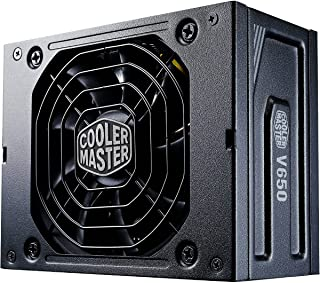 Fonte Cooler Master V SFX Gold 650W Modular (sem cabo de força), 80 Plus Gold, padrão SFX