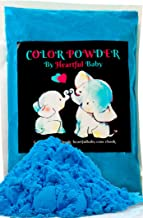 Baby Gender Reveal Party Supplies - 4lb Blue Color Powder 4 lbs Bag - Free Bonus Ebook - Boy He Him Announcement - Holi Festival Colored Powdered Smoke Bomb - Car Exhaust Burnout - 5k Fun Run Azul