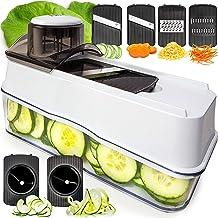 Fullstar Mandoline Slicer Spiralizer Vegetable Slicer - Veggie Slicer 5-in-1 Mandoline Food Slicer with Julienne Grater - ...