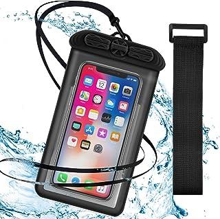 UNIQUE スマホ防水ケース 指紋認証/顔認証対応 防水ケース スマホiPhone12 Pro Max/iPhone12 Pro/iPhone12/iPhone11 Pro Max/iPhone11 Pro/iPhone11/iPhoneX/...