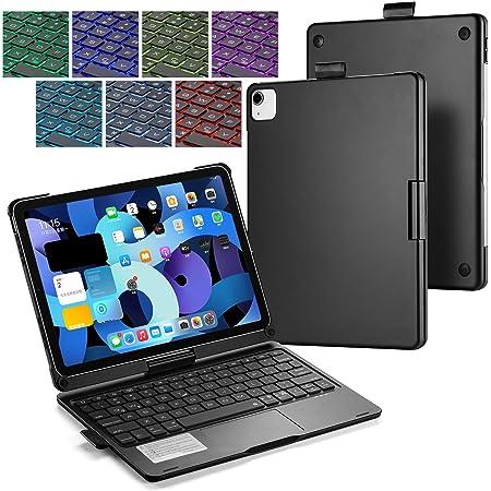 Funda para Teclado iPad Air 4 10.9 BECEMURU 7 Colores Teclado ...