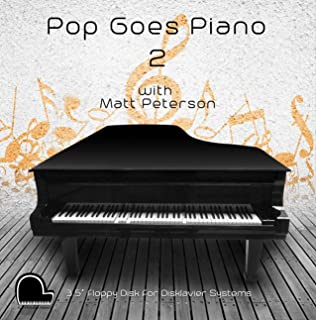 Pop Goes Piano 2 - Yamaha Disklavier Compatible Player Piano Music on 3.5