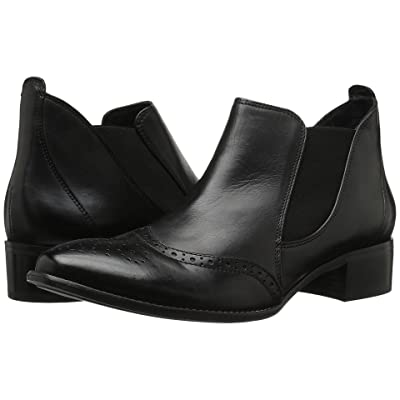 0887f4d5f65e6 Paul Green Jay Slip-On (Black Leather) Women's Boots