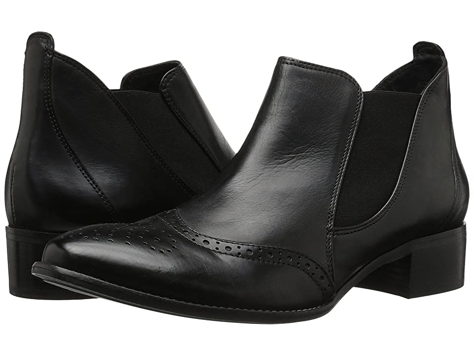 a106bf46af Paul Green Jay Slip-On (Black Leather) Women