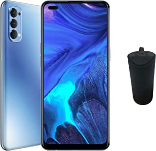OPPO Reno4 Smartphone, 8GB RAM, 128GB (Galactic Blue) + Gift box contains Bluetooth Speaker