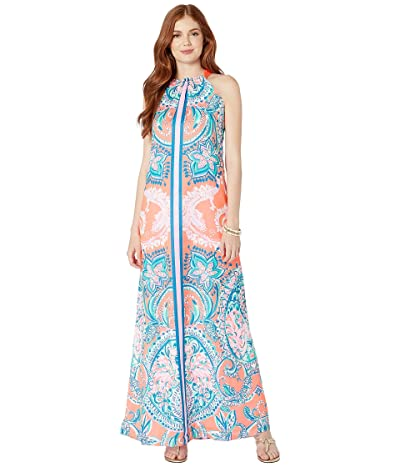 Lilly Pulitzer Hollyn Maxi Dress (Tangerine Tangerine Dream Engineered Dress) Women