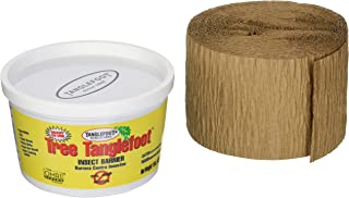 Tanglefoot Tree Care Kit - Tree Insect Barrier & Tangle-Guard Wrap Combo