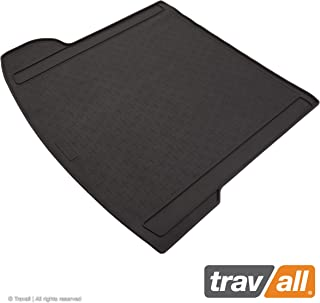 Travall Liner Compatible with Jaguar F-Pace (2016-Current) TBM1154 - All-Weather Black Rubber Trunk Mat Liner