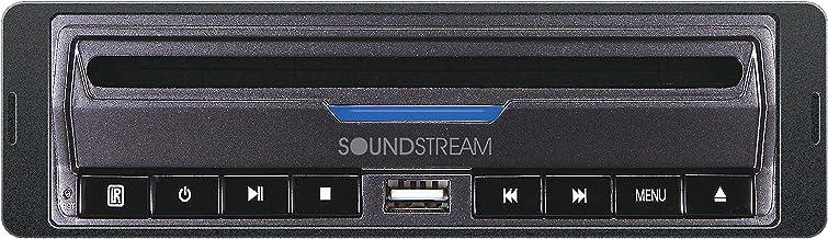 Soundstream VDVD-165 Single-DIN DVD Player with 32 USB Playback