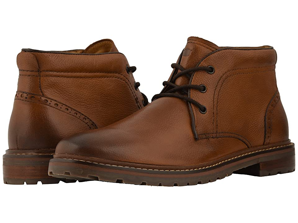 Florsheim Estabrook Chukka Boot (Cognac Milled) Men
