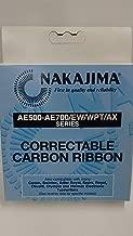 Nakajima Brand Xc001 Ae-710 - 1-Standard Black Correct Ribbon (Office Supply / Ribbon)