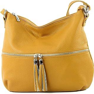 modamoda de - Ital Umhänge- / cuir sac à bandoulière T159