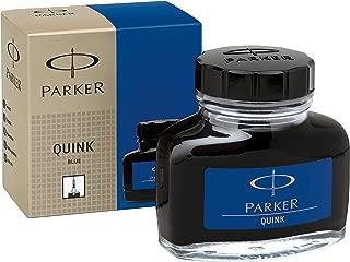 Parker Quink Bottled Ink Permanent Blue 57ml Bottle S0037470