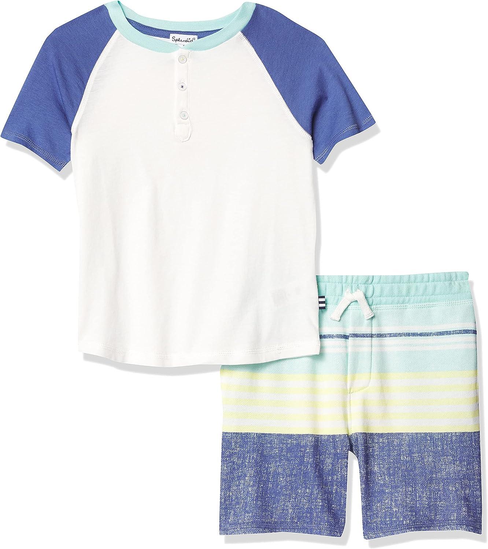 OFFicial shop Splendid Boys' Large special price Kids Short Set Sleeve