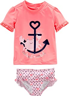 Simple Joys by Carter's Girls' Rash Guard